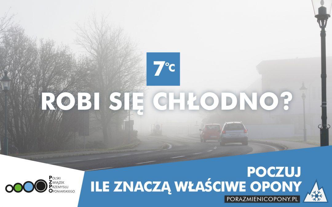 """Polski Związek Przemysłu Oponiarskiego przypomina o sezonowej zmianie opon w kampanii """"Pora zmienić opony"""""""